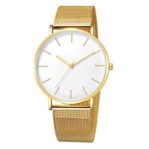 The Minimalist Watch | Classic Gold x White